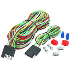 four way trailer wiring connection kit