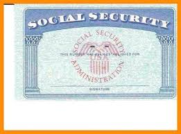 Security Card Template Blank Social Security Card Template Pdf Wcc Usa Org