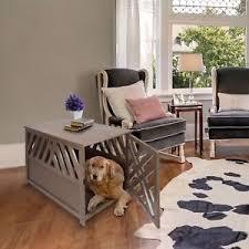 modern dog furniture. Image Is Loading Modern-Dog-Kennel-Wood-Bed-Large-Crate-Pet- Modern Dog Furniture