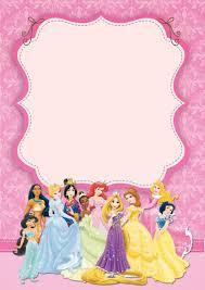Free Customizable Invitation Templates Disney Princesses Birthday Invitation Template Free Printable 11