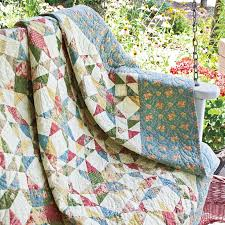 280 best Lap Quilt Patterns and Throws images on Pinterest ... & SUMMER MEMORY Scrappy Stars Large Lap Quilt Pattern Designed by GERRI  ROBINSON Machine quilted by REBECCA Adamdwight.com