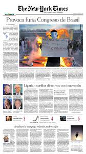 Jennifer Ford Layout For New York Times International Weekly