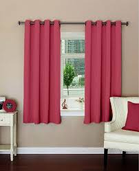lushomes plain light pink polyester blackout curtains for windows
