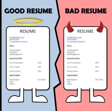 Cv Vs Resume Cv Vs Resume Cv Vs Resume Example Sample Bad Resume
