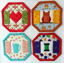 Mug Rug Patterns Beauteous 48 Mug Rugs In One Pattern Quilting Digest