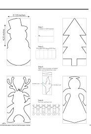 best images about mikul aacute s coloring coloring template winter holiday paper chain templates it also gives minimal instructions on the same page for folding etc i ve actually never done this
