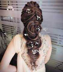 Five strand braid is one of the best long hair wedding styles to try. 17 Trendiest Hairdos To Glam Up Your Wedding Reception Look Shaadisaga