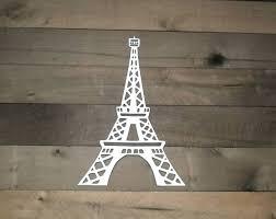 30 ideas of eiffel tower metal wall art