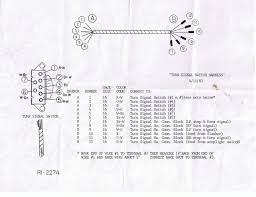 electrical turn signal switch wiring diagram needed it references the original factory installed switch