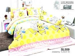 pokemon full sheet set full sheet set 3 piece twin sheet set bed set bedding set