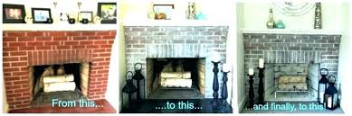 brick fireplace designs decor red ideas fascinating makeover photos
