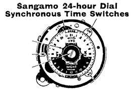 sangamo weston time switch sangamo weston s258 s259 s260 s261 etc