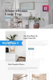 One Light Real Estate Photography Dwelex Real Estate One Page Modern Elementor Wordpress