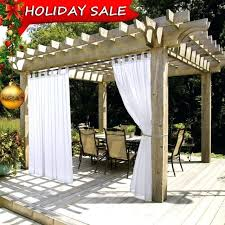 deck curtains summer white indoor outdoor curtain panels elegant tab top waterproof curtains for patio with outdoor deck curtains canada