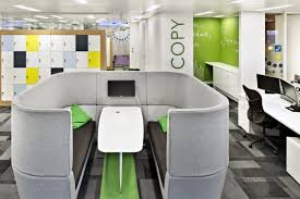 futuristic office furniture. Mesmerizing Futuristic Office Furniture Pods Concept With Pads And Benches Also Central Table