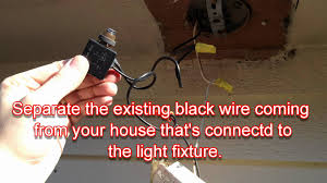 how to convert any outdoor light to turn on automatically at night Wiring Diagram For Outside Light Sensor how to convert any outdoor light to turn on automatically at night wiring diagram for outdoor sensor light