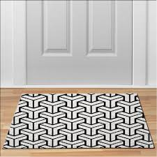 cool MODERN PATTERN BLACK WHITE Doormat Floor Durable Non-Slip ...
