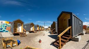 tiny house denver. The Beloved Community Tiny Home Village, 38th And Walnut Streets, On Move-in House Denver N