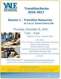 y a l e school transition series 2016 2017 y a l e school