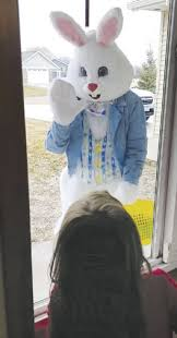the easter bunny is coming to town
