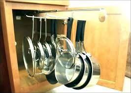 diy pots and pans storage pot and pan hanging rack pot and pan wall rack pots
