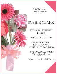 Free Bridal Shower Invite Templates 15 Free Wedding Shower Invitation Templates Ms Office