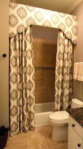 custom printed shower curtains curtain how to make a valance go above the custom printed shower curtains