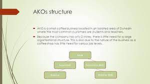 Organizational Chart For A Coffee Shop Organisational Structures Ppt Video Online Download