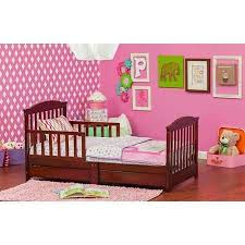 Dream On Me Mission Collection Toddler Bed with Storage Drawer Choose Your  Finish