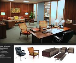 mad men style furniture. \u201cMad Men\u201d Furniture: Don Draper\u0027s Office. Via Http://midcenturymodernist Mad Men Style Furniture