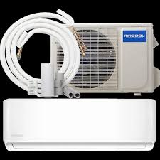 mini split heating and cooling elegant mrcool diy 18 000 btu 230v mini split heat pump