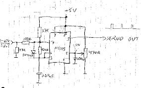 servo controlling circuit circuit diagram old