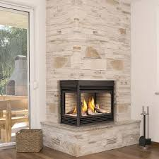 l-shaped gas fireplace insert - Google Search … | Pinteres…