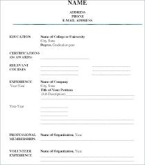 Career Builder Resume With Career Builder Resume Form Resume Job A Simple Resume Builder Service