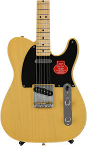 Fender Custom Shop Designed Telecaster Fender Classic Player Baja Telecaster Blonde W Maple