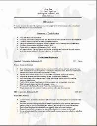 resume sample human resources generalist human resource resume template