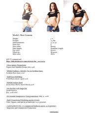 resumes for models epic model resume sample on sample model resume models of resumes