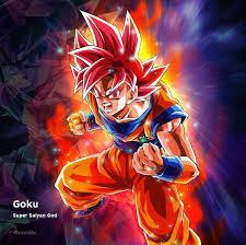 Goku Super Saiyan God Dragon Ball ...