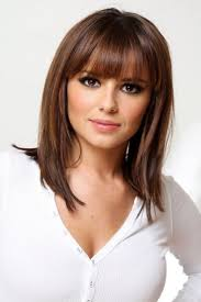Hair Style For Long Thin Hair best 25 thin hair bangs ideas brunette bangs 6797 by wearticles.com