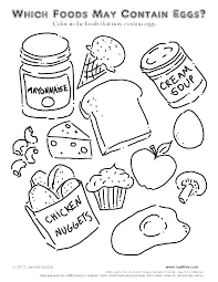 Coloring Pages Of Food Food Chain Color Pages Food Web Coloring