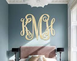 SALE SALE SALE - Wooden Monogram Letters - Wooden Monogram Wall Hanging - Monogram  Wall Decor