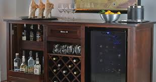 Bar Cabinet With Wine Cooler