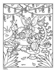 Small Picture We Love to Illustrate August FREE Downloadable Coloring Pages