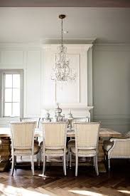 dining room crystal chandelier. Best Dining Room Oly Chairs Rh Table Crystal Chandelier Mercury Glass Urns As Centerpiece -