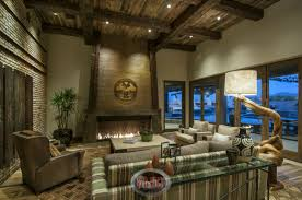 living room design photos gallery. Like The Living Room Above, Family Has An Elevated, Wood Beamed Ceiling Design Photos Gallery E