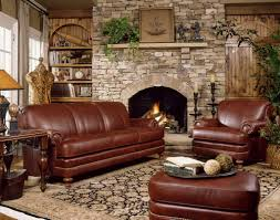 Of Sofa Sets In A Living Room Leather Stone Barn Furniture