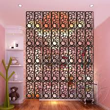Carved Wood Screen Partition Wall Hanging EntrancewayOffice