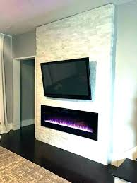 electric fireplaces ideas fireplace walls with regard to wall mounted decor 6