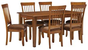 Ashley Furniture Kitchen Table And Chairs Ashley Furniture Berringer 7 Piece 36x60 Table Chair Set