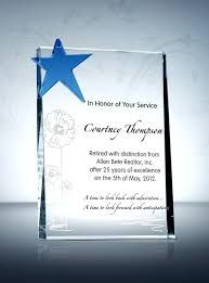 Retirement Plaque Sayings Best Plaques Amp Awards Images On